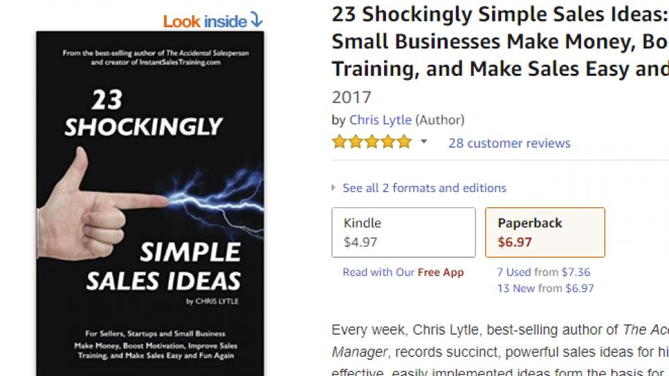 23SSSIdeas Amazon Page